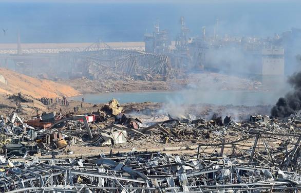 Beyrut Valisi: Limandaki patlamanın zararı 3 ila 5 milyar dolar