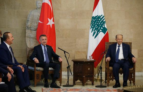 Oktay: Beyrut Limanı'nın inşası konusunda Türkiye sonuna kadar hazır