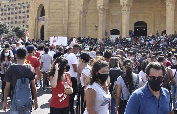 Lübnan'daki gösterilerde 490 kişi yaralandı, 1 polis öldü