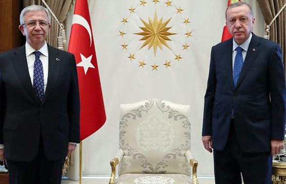 Mansur  Yavaş projelerini Cumhurbaşkanı Erdoğan'a anlattı