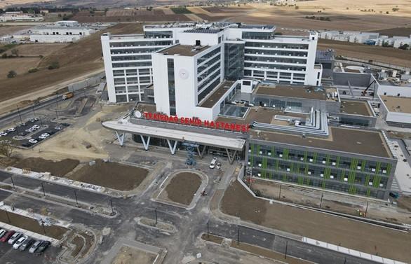 486 yataklı Tekirdağ Şehir Hastanesi, hizmet için gün sayıyor