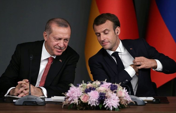Macron: Erdoğan hükümetine karşı açık ve sert olmalıyız