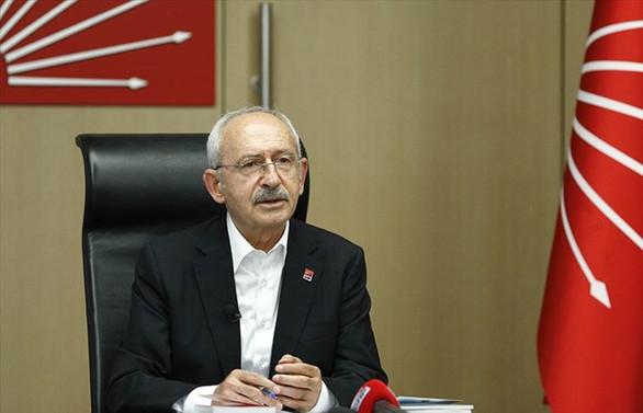 Kılıçdaroğlu, kısa çalışma ödeneği alan çalışanlarla görüştü