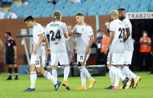 Beşiktaş Trabzon'da 3 golle kazandı