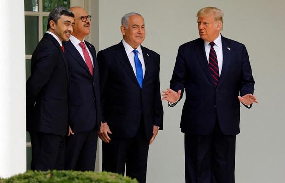 İsrail ile Bahreyn ve BAE anlaşması Beyaz Saray'da imzalandı