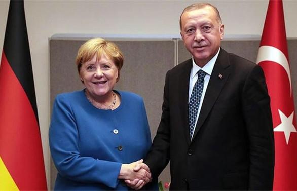 Erdoğan ile Merkel 'Doğu Akdeniz'i görüştü