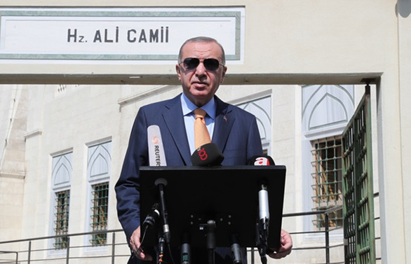 Cumhurbaşkanı Erdoğan'dan salgın açıklaması: Mecburen işi tekrar sıkmak durumundayız