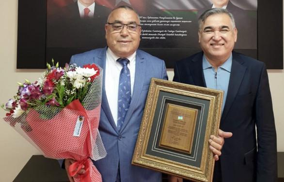 Özbekistan'ın Bursa fahri konsolosluğuna Baklan atandı
