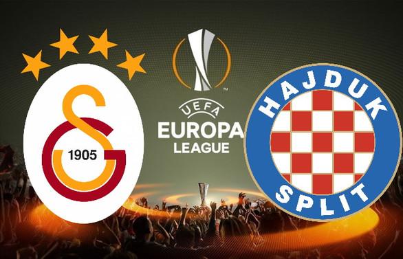 Galatasaray-Hajduk Split canlı izle   Galatasaray maçı hangi kanalda?