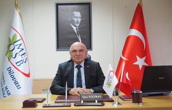 İMES OSB Yönetim Kurulu Başkanı İrfan Küçükay son yolculuğuna uğurlandı