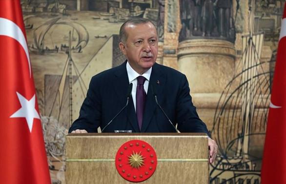 Erdoğan: Ermenistan işgal ettiği Azerbaycan topraklarını derhal terk etmeli
