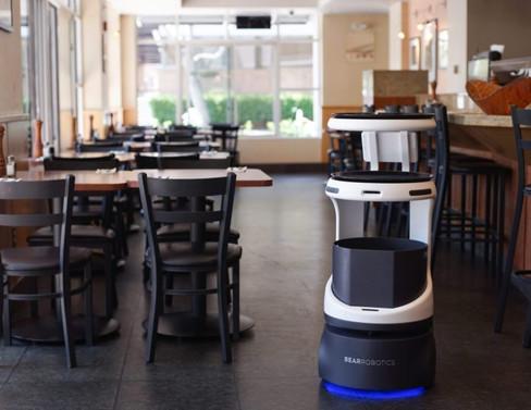 SoftBank'tan robot garson