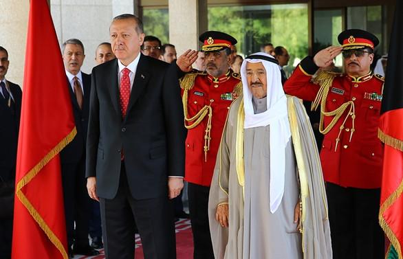 Erdoğan'dan Kuveyt Emiri için taziye mesajı
