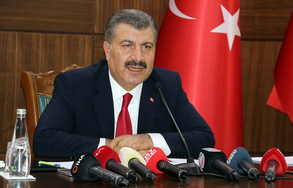 Sağlık Bakanı Koca: Türkiye'de yoğun bakım doluluk oranı yüzde 68