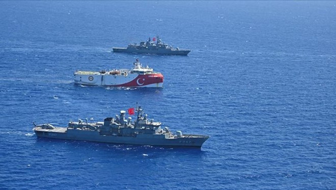 MSB'den Doğu Akdeniz mesajı