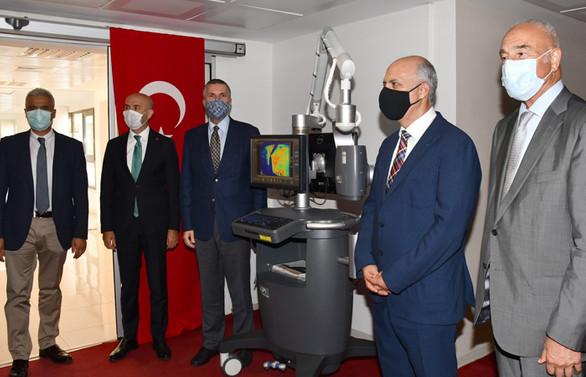 TİSK'ten Mersin Üniversitesi Hastanesi'ne 800 bin TL'lik cihaz bağışı