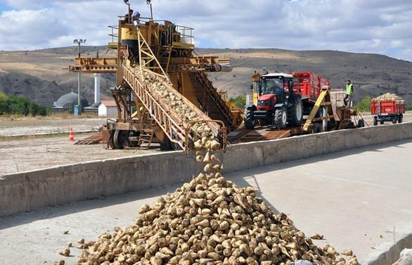 Uşak Şeker Fabrikası yeni üretim dönemine başladı