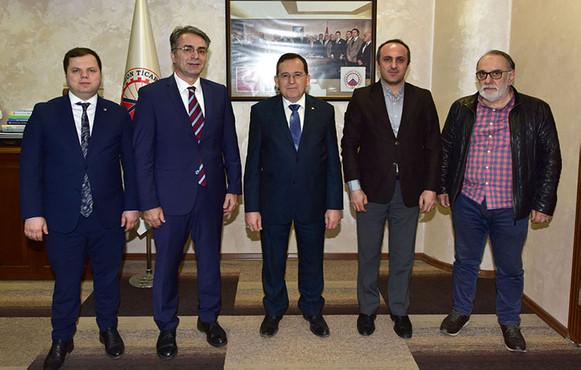 Trabzon'da üniversite sanayi işbirliği