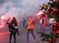 Fransa'da işçi, memur ve emekliler alanlarda