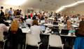 NATO liderler zirvesini bin kişilik basın ordusu takip etti
