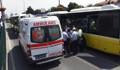 Metrobüs bariyerlere çarptı, 6 yolcu yaralandı