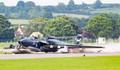 Uçak gövde üstü indi, pilot zor kurtuldu