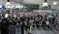 Atatürk Havalimanı'nda yolcu yoğunluğu