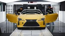 Lexus LC'nin üretimi başladı