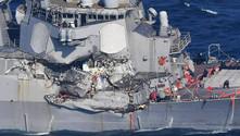 ABD filo komutanı kazalar sonrası görevden alındı