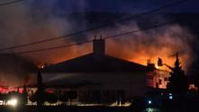 Çanakkale'de cezaevinde yangın