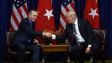 Erdoğan ile Trump ile bir araya geldi