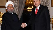 Erdoğan ile Ruhani bir araya geldi
