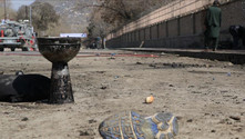Afganistan'da NATO konvoyuna intihar saldırısı