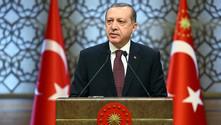 Erdoğan: Topçu ateşiyle geri döndüler