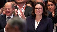 Nahles, SPD'nin ilk kadın genel başkanı oldu