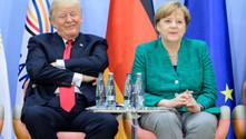 Merkel ile Trump Suriye'yi görüştü