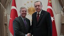 Cumhurbaşkanı Erdoğan, ABD'li senatörle görüştü
