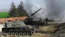 TSK, Tel Rıfat'taki YPG mevzilerini vurdu