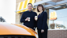 Ford, McDonald's'ın kahve çekirdeği atıklarını parçalarda kullanacak