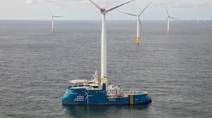 Yalova'dan Fransa'ya rüzgar türbini bakım gemisi