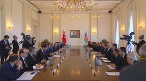 Azerbaycan'da heyetler arası görüşme