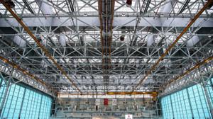 Türkiye'nin en büyük hangarı açıldı