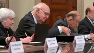 Fed başkanlarından tarihi oturum