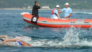 Türkiye Açık Su Yüzme Şampiyonası'nda 140 sporcu kulaç attı