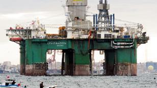 Petrol aramada yerli gemi atağı