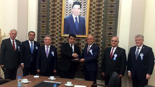 DEİK heyeti, Türkmenistan'da Türkiye ekonomisini anlattı