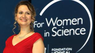 Türk bilim kadınına UNESCO'dan ödül