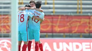 Türkiye U17 Milli Takımı yarı finalde