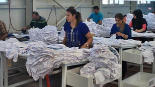 Bedelsiz fabrika binası verdi, 220 kişi iş sahibi oldu
