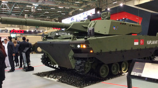 FNSS'in hafif sınıf tankı KAPLAN IDEF'te